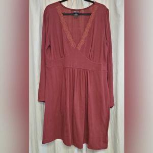 Torrid Long Sleeve Knit Dress